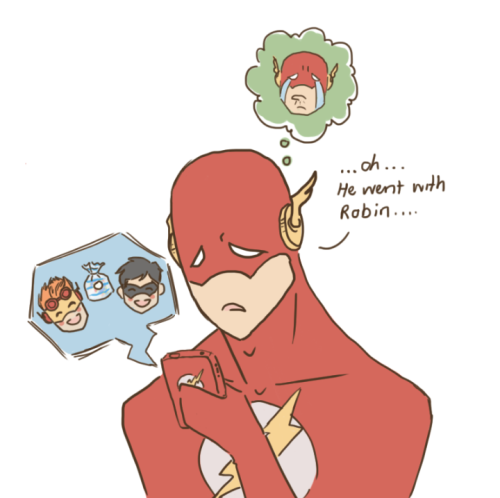 robinfootiepajamas:  Oh Flash~