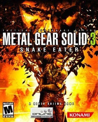 I am playing Metal Gear Solid 3: Snake Eater                                      Check-in to               Metal Gear Solid 3: Snake Eater on GetGlue.com