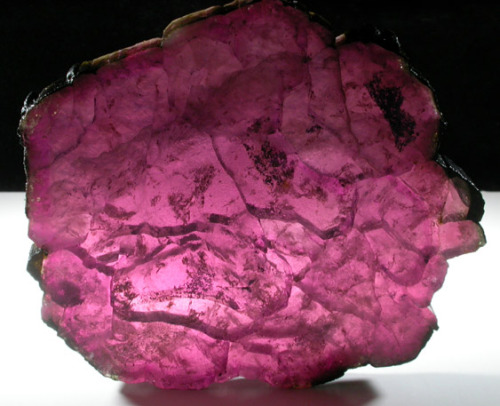 Elbaite var. Rubellite Tourmaline from Mozambique by John Betts