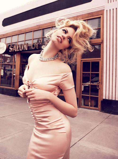 "Hailey Clauson  Vogue Australia March 2012 ""Viva Las Vegas"""