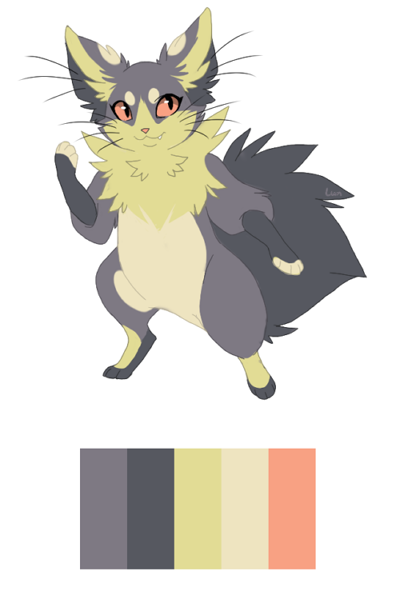 found this nice colour palette, and tried a few things :') Colour palette
