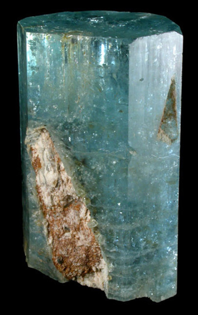 mineralia:  Beryl var. Aquamarine from Namibia by John Betts