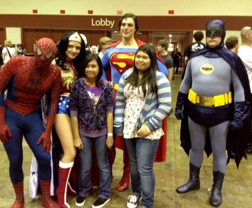 Spider-Man joins the Justice League; Batman eats his feelings.   (Photo credit: @eggogf via Instagram)
