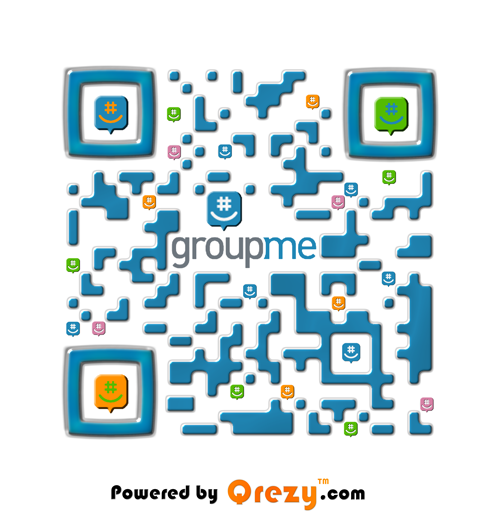We had the privilege of making an app for another one of favorite Apps GroupMe! It's a great way to stay connected with friends, family and colleagues. Scan and try out the App!