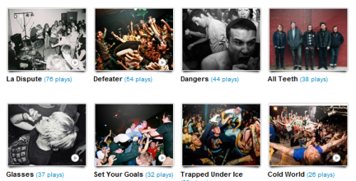 This week's Last FM.