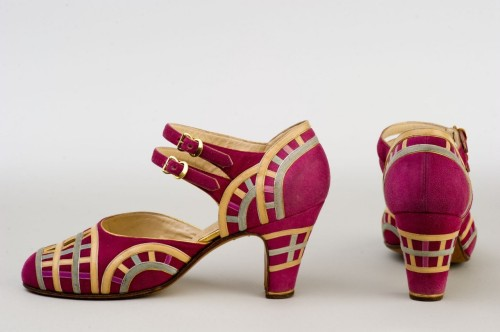 Shoes by Donna Greco, 1925-35 Paris, Shelburne Museum