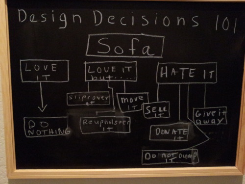 Design Decisions - Keepin' it green
