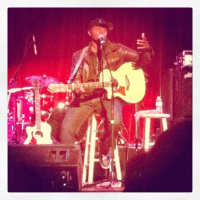 Javier Colon - Feb. 18, 2012 (Taken with instagram)