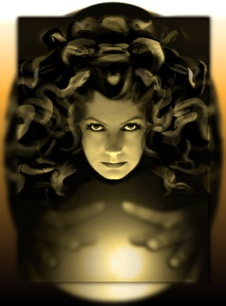 whywonder:  Greta Garbo As MEDUSA