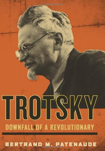 "BOOK REPORT: TROTSKY: DOWNFALL OF A REVOLUTIONARY by Bertrand M. Patenaude Stories about dictators after their fall are generally the most disappointing of stories.  Having ruled the world and then lost it, we expect, we hope, they will spend their remaining years haunted by the ghosts of their victims. But thus far in my studies that is never the case.  It takes a special kind of borderline psychotic personality to not only conquer a nation but then to believe so fervently in whatever justification you have for your rule - be it Marxism or restore the nation to its former glory - that you believe that anyone who is against you is just against the proletariat or the glory of the fatherland and thus has to be killed. It takes a really intense personality to think that way, and they don't tend to just drop it because of a little thing like their entire nation turning against them.   Pol Pot, Idi Amin, Bonaparte to name a few, all showed to the best of our knowledge not a shred of guilt in their post-power years, but raved about the people who had failed them. It's romantic to think that had Hitler lived he would have been tormented by what he had done, but even if he had spent 40 years in solitary after his downfall, he would have been screaming about these fools who weren't worthy of him. Trotsky, despite his latter day romantic image, took advantage of his first moments in power to begin persecuting and killing as many of his enemies as he could get his hands on.  Having started out as one of the leading lights in the Mensheviks movement, he saw which way the wind was blowing, switched sides and joined with Lenin and the Bolsheviks just days before the revolution.  Then as soon as they took power, he took charge of persecuting and exiling those people who a couple weeks ago had been his bosom comrades and ideological soulmates.  Of course, along with Che Guevera, Trotsky somehow gets elevated above mere murdering dictator in the imaginations of many.  Perhaps it's because like Che, he looks like a dashing romantic figure, and what intellectual can resist the image of the intellectual who also rides into battle and leads troops.  Perhaps because he never really fully got his hands on the levers of power himself, never rising above the number two or three slot and then got exiled and killed by the great dictator himself.  Perhaps its because compared to Stalin, Trotsky seems a relatively humane figure.  He argued that some artists should be allowed to live and even work, so long as they stayed far from politics and served a good purpose and a bunch of other conditions.   But whenever your claims to humanity are prefaced with ""compared to Stalin"", you know the game is rigged.  It's like a restaurant critic saying, compared to rancid milk pulled out of the dumpster, the meal was very edible. Or a film critic saying, compared to Saw 5, the characters were well developed and intruiging, the drama complex and fascinating.  So okay, compared to Stalin, Trotsky would likely, given the chance, have murdered slightly fewer.  But when given the chance, he murdered plenty.  And for those who see Trotsky as some sort of anarchist, anti-state philosopher, it should be noted that right up until his death, even after every member of his family and all his comrades had been killed, he continued to profess that the Soviet Union was the most ""advanced"" nation on the planet, far preferable to any decadent alternative. Anyhow, the book takes us back through the highlights of Trotsky's career and paints a full picture of his final years in Mexican exile.  Like the great dictators before him, he spent the time plotting a comeback and quarreling with everyone who came near him. Belying the claims that Trotsky was a more humane face of Marxism, even out of power his main preoccupation was obsessively combing the ranks of his followers for ideological impurity and plotting their expulsions.  When a group of American Trotskyites decided that they no longer believed in the doctrine of historical inevitability - arguing that if it's all inevitable why should they bother working for revolution - Trotsky from Mexico spent years raging against them and demanding their ouster from the movement.  Other than that, he seems to have been a completely unpleasant person.  He had no actual friends at any point in his life.  He betrayed and humiliated His slavish wife repeatedly.  Diego Rivera risked a great deal when he used his influence to get Trotsky brought to Mexico when no other country would have him.  Trotsky repaid him by sleeping with his wife and then ditching the house that Rivera had spent a fortune of his own money buying for Trotsky.  His assistants and guards he abused serially.  He wouldn't let them eat any food other than potatoes and gravy in the house. An interesting book and an interesting portrait of a grim subject at a bad time.  Don't look for inspiration positive or negative here.  But fascinating reading."