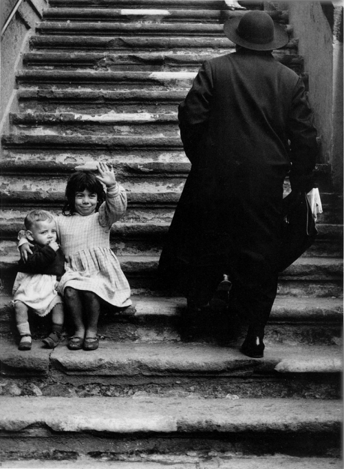 Stairs to Maria della Catena Church, Naples, by Herbert List (1961).