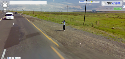 thatfunnyblog:  this child is just dancing in the middle of nowhere by the side of the road i don't understand how they got there or why they're doing it  keep on dancing, son follow your dreams  Wanna LAUGH OUT LOUD?!
