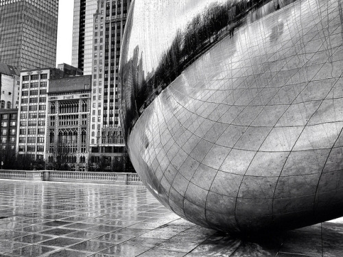Cloud Gate - Anish Kapoor - 06 on Flickr.