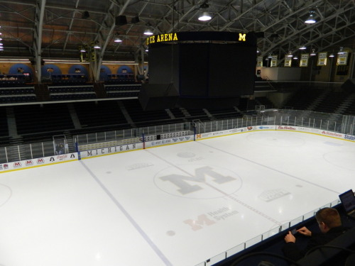 Yost's final night for the regular season
