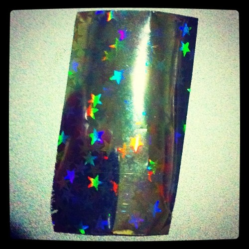 Nail Foil :) 💅 (Taken with instagram)