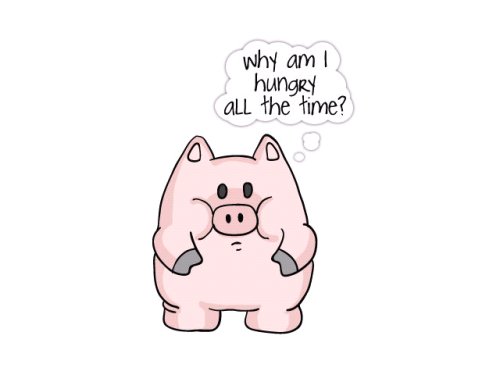 Why piggy why! I loveded you!  #piggy#hungry#silly#funny#smile