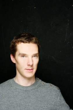 "British actors I am in love with #5 - Benedict Cumberbatch.  I love him, totally. The man is so intelligent, talented and beautiful. His voice, his cheekbones, his lips, his fingers, his gestures and everything else about him is just astonishing. He is the perfect ""Modern Sherlock Holmes"". <3"