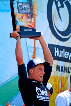 Matt Banting - winner Australian Open of Surfing 2012