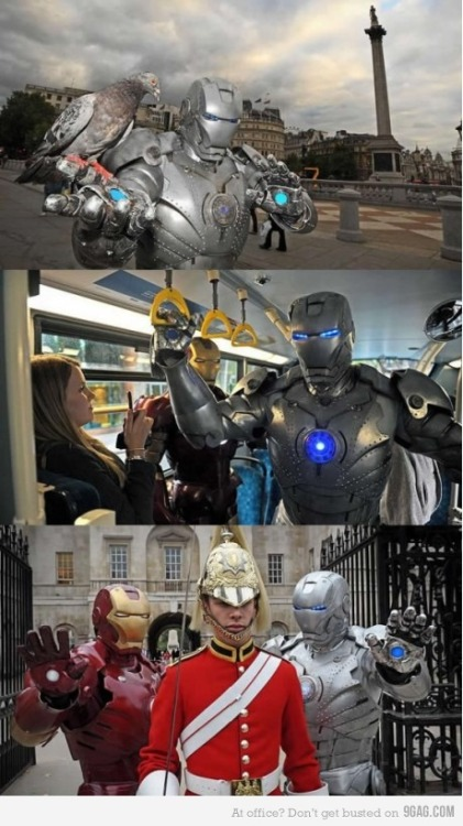 Epic homemade Iron Man suits are epic