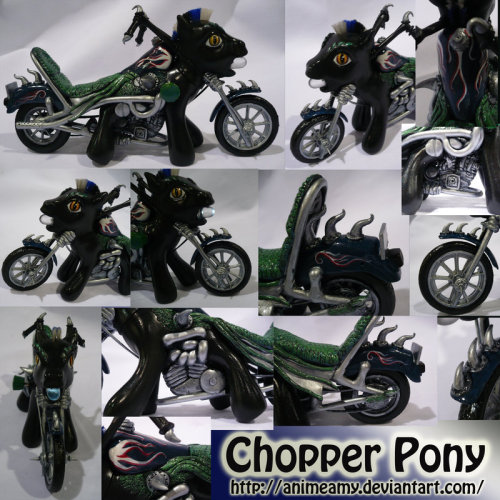 Chopper My Little Pony by ~AnimeAmy  Vroom vroom!