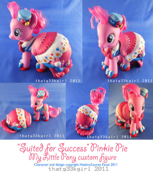 Suited for Success Pinkie Pie by =thatg33kgirl