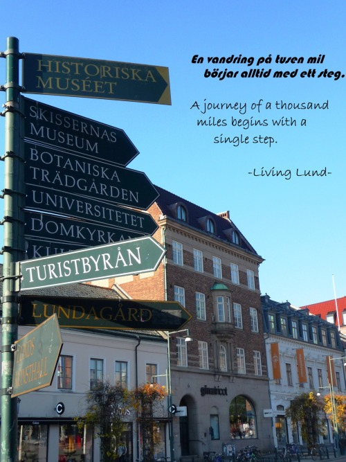 Step by step in lovely Lund