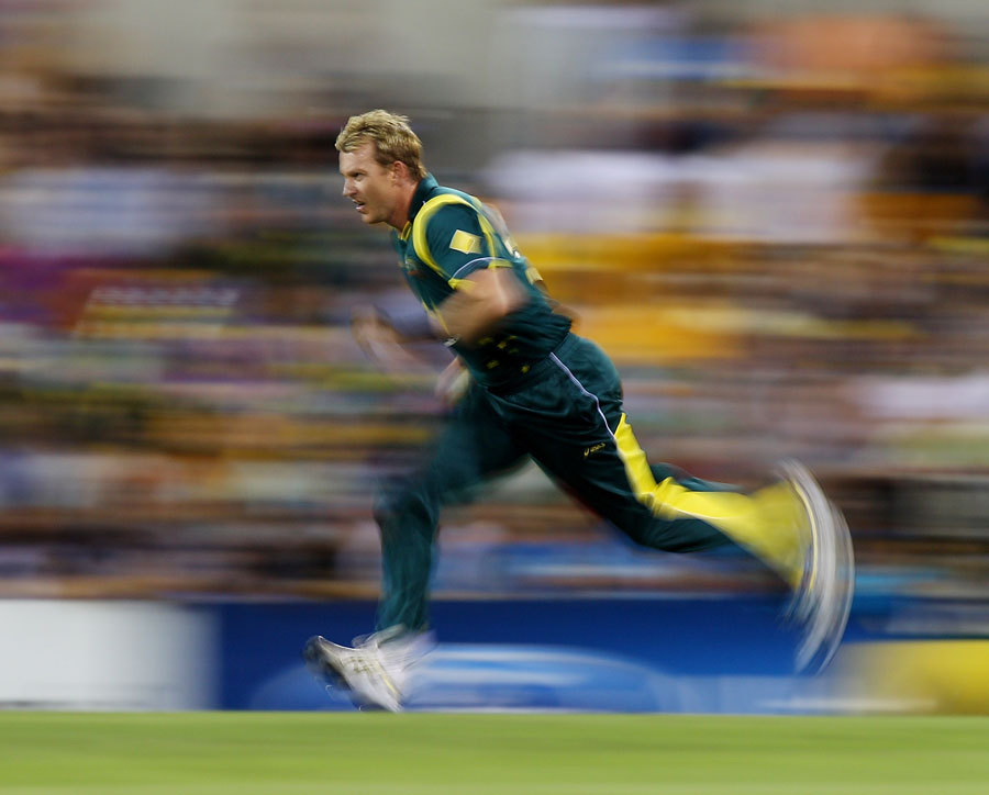 "hazyville:  ""Brett Lee bowled with pace and verve"""