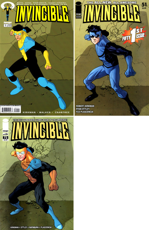 ilovecomiccovers:   Invincible #1 Homages