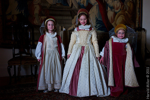 aurorae:  Elizabethans, Trerice House (by harold.whatever)