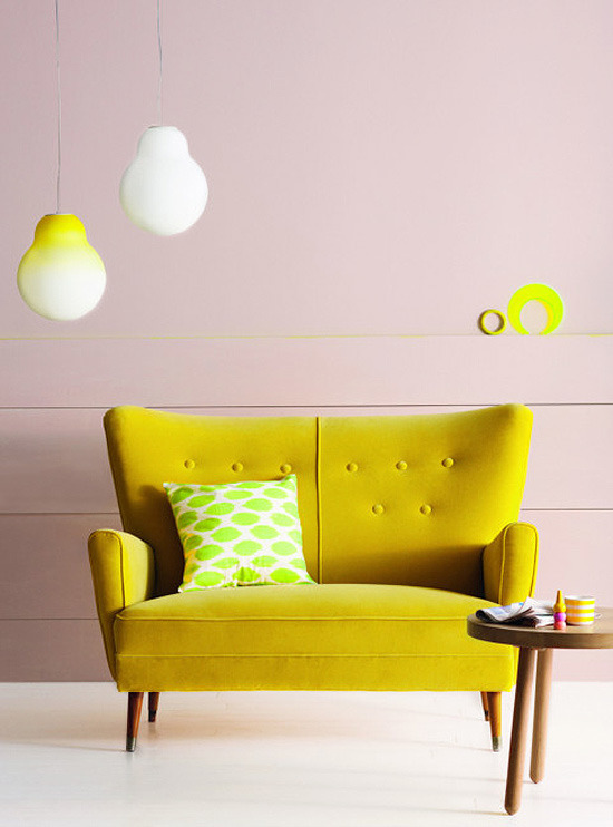 homeandinteriors:  Neon colors are the talk of the town of late. From home accessories to the top fashion houses, these vibrant hues are showing up in full swing this spring. Submitted by itsaboutinterior