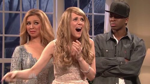 Also, Kristen Wiig as Taylor Swift - once again, killed it.