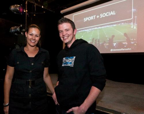 "Sport and Social Media event in Wellington To get to know a little bit more the Kiwis and specifically how they approach Social Media, i decided to go and attend to Sport and Social Media event presented by Clare Wolfensohn and had to regret at all. Clare Wolfensohn did a very great job with her presentation choosing Rugby, the national sport in New Zealand, as her main example to represent the impact Social Media can actually have on Sport. Indeed, i was very pleased to learn a lot but also observed different strategies she used and applied for her projects. It's always good to see people's creativity and inspiration to get the job done as far as it concerns social media :0 I was also glad to have been able to meet Clare in person. It's always good to know more people from the Social Media industry and especially when we are ""new"" in town and who knows…I might see her again. Sometimes, we do live in a small world ;-) To see more pictures of the event: Social Media Club Wellington Thanks again Tom for this nice opportunity."