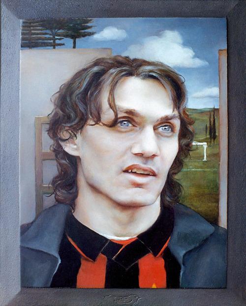 Portrait of Paolo Maldini (1996)