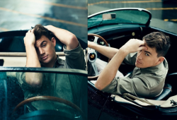 Editing these two Channing photos together because he looks smokin'