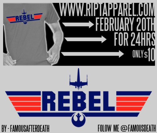 famousafterdeath:  Top Rebel shirtWww.riptapparel.com 12am tonight $10 for 24hrs  …oh my God, it's a parody of Top Gun. This is beautiful.