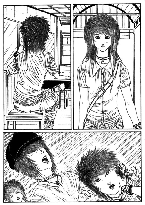 untitled short manga by ~azrulFTW untitled and half of me insisted it for a submission pg1