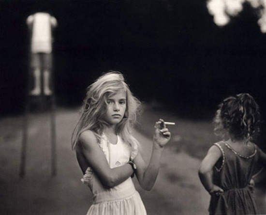 Candy Cigarette (1989) by Sally Mann.