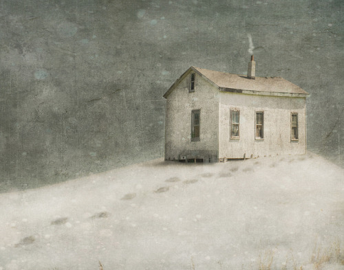 fear of cold feet… by jamie heiden on Flickr.Snow Shack