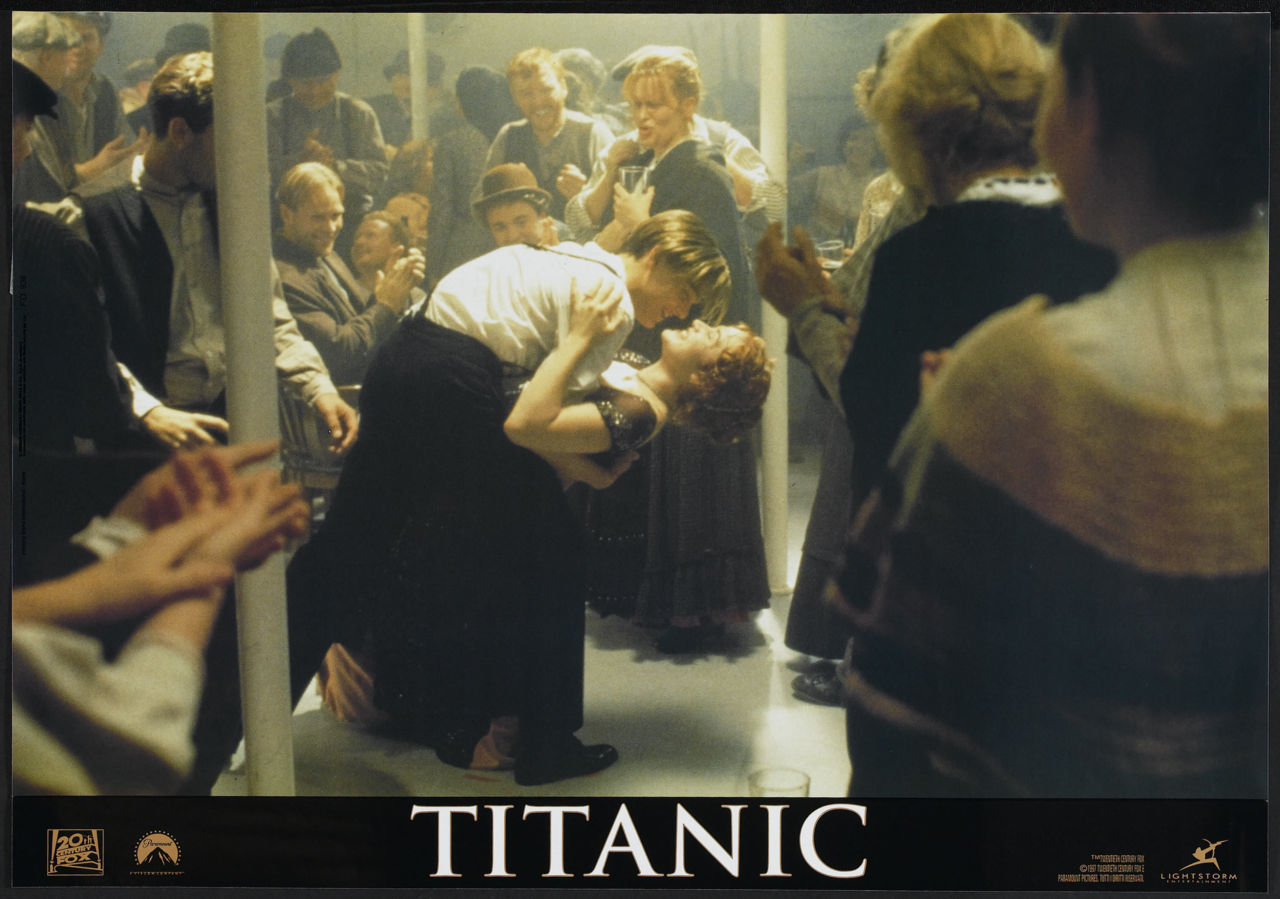 Titanic, International lobby card. 1997