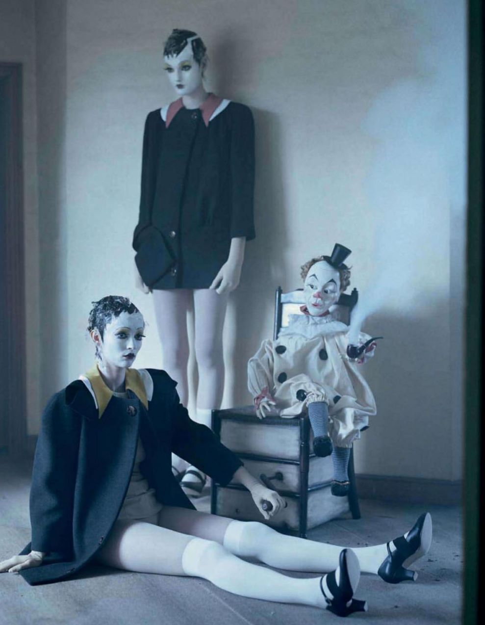 """Mechanical Dolls"" by Tim Walker"