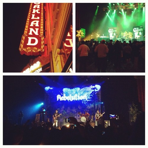 Rebelution was so dope live (Taken with Instagram at Fox Theatre)