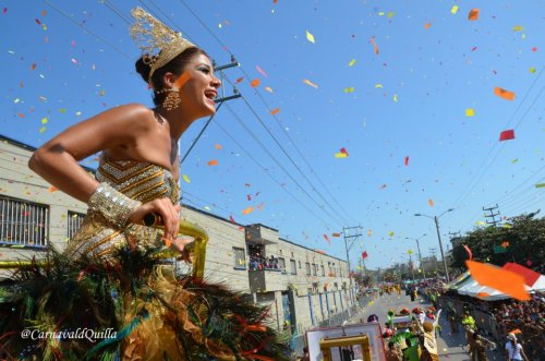Battle of Flowers, the BarranquillaCarnival 2012