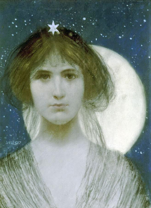 ponderful:  Wilhelm List (Austrian, 1864-1918), A Night Fairy