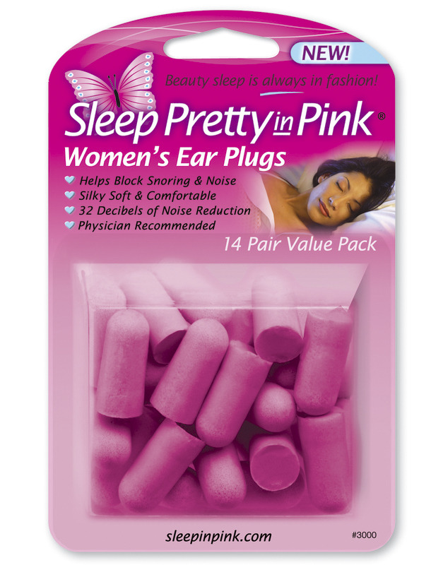 Women's Ear Plugs.
