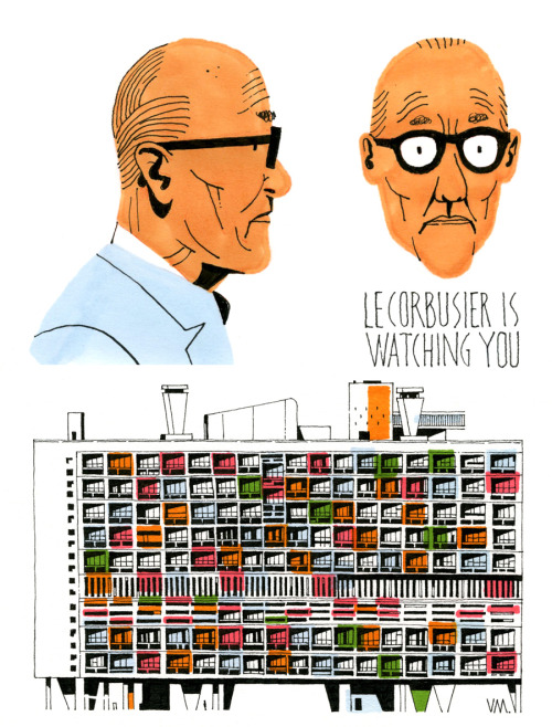 c86:  Le Corbusier is watching you