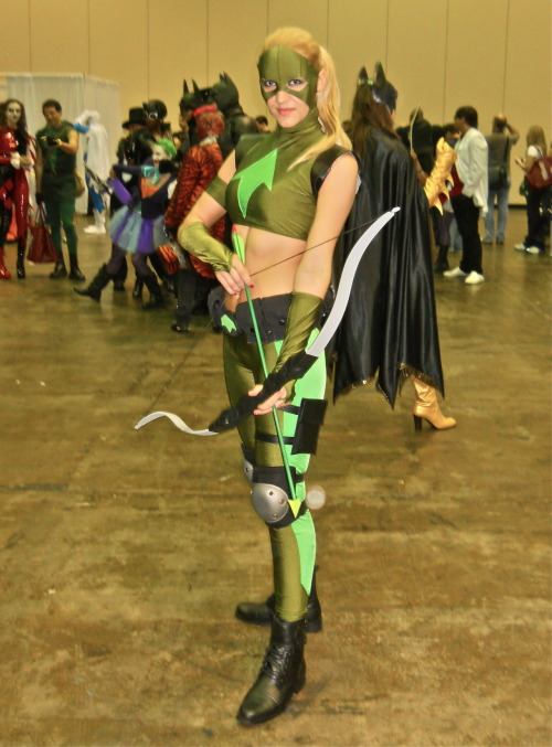 iweareggplantwithpride:  Artemis at MegaCon!  pretty sure my jaw dropped