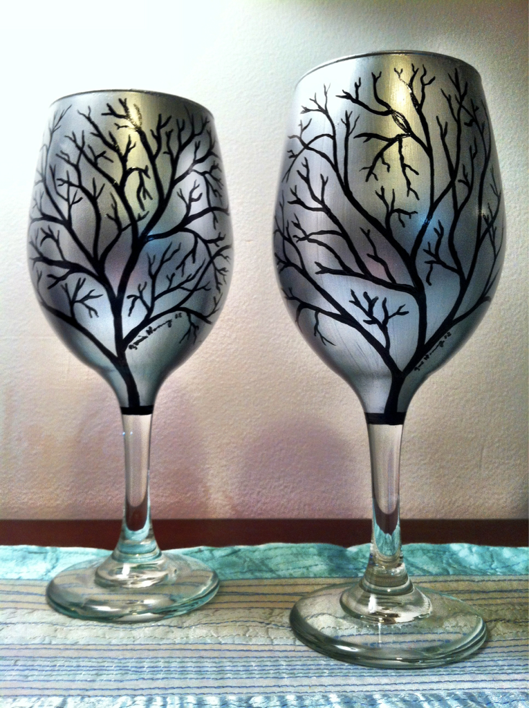 Silver Trees  I've been busy in my studio. Which while fulfilling has sadly been taking me away from my photography
