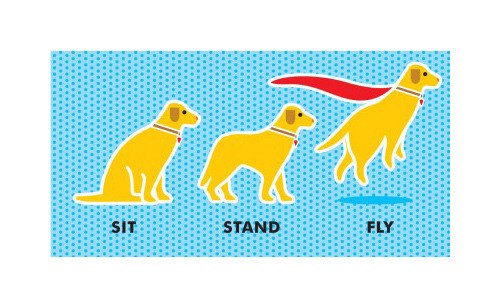 Sit   Stand   Fly illustrated by Richard Horne :: via lawagency.co.uk