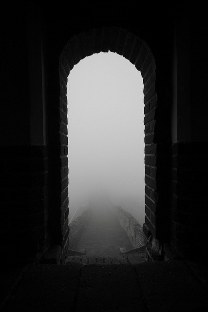 Great Wall in the Fog (Mutianyu, near Beijing) by Kalexander2010 on Flickr.