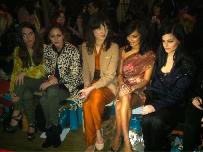 Style stars turn out in force for #MatthewWilliamson #LFW